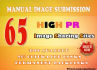 manually Upload your Image to Top 65 Image sharing sites