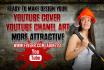 design YouTube Cover, YT Channel Art