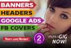 create a wordpress, blog, web banner, header, slide