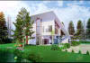 make your dream home come true by sketchup, 3dmax and photoshop