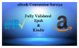 do EBOOK conversion from any file format within 24 Hours
