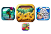 create mobile games apps icons