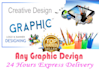do any type of Banner logo and Graphics work
