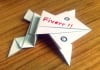 write your message on my cute paper frog