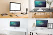 put your logo or images in 10 IMac Mock Ups