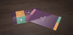 design attractive FLAT business cards within 24 hours