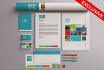 design business card and all stationary kit