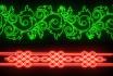 create a Neon text animation
