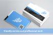 design English or Arabic Business Card