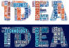 create a nice tagcloud typographic word art from any words you will provide