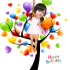 do your face in 3D video cartoon animation style happy BIRYHDAY