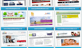 develope a professional and good looking 5 pages website of your business company or organization