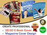 design creative product PACKAGING or labeling and awesome ebook cover