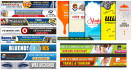 artistically design  banner, ad,cover for facebook or website