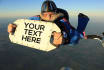 made Sky Divers To Display your Message in The Sky