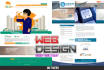 design a creative and stunning website for you