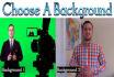 create a REALISTIC spokesperson video