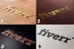 transform your logo into 2 amazing 3D mockups