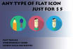 create any type of awesome flat and GIF icons