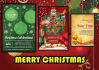 your Christmas or New years  card menu logo etc