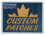 provide custom embroidered patches with max 4 inches size