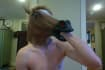 film a horse head mask CUSTOM message or advertisement video