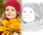 turn your photo into a grungy pencil sketch