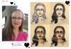 draw your Manga portrait caricature