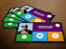 design a Metro Style Business Card