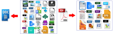 convert Office file to PDF or pdf to doc
