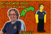 draw you as Simpson character avatar