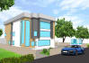 create exterior model in Sketchup from 2D drawings