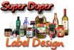 design super duper labels or packaging design