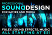 add sound effects to your INTRO video