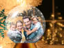 insert your picture inside a snow globe