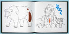 draw an adorable vector line art for your coloring book