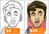draw you as a caricature