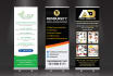 design an awesome Roll up or exhibition banner