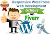 design professional wordpress website or blog in 48 hours