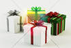 render 3d gift box