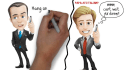 create professional Whiteboard Video for business