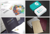do a professional double side business card