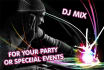 make a DJ mixed set for your special events
