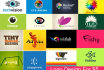 design creative 3 LOGOS with unlimited revisions in 24hrs