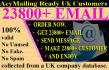 deliver 40K customers email list of UK