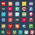 design customizable FLAT icons