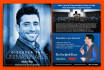 design a professional and trendy flyer and poster
