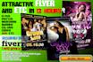 design attractive FLYER,Brochures and etc in 24 hr