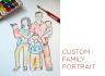 make you art based on your family picture