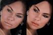 digitally add or enhance makeup in 2 photos